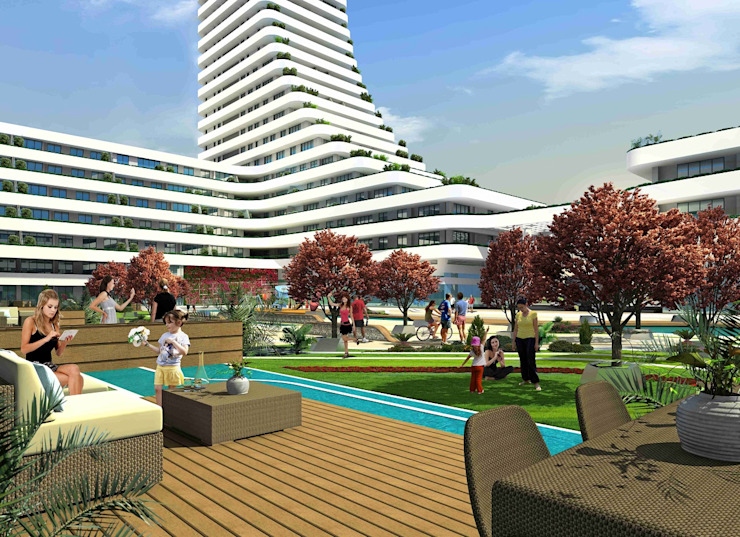 CCT 158 Project in Bursa Modern Evler CCT INVESTMENTS Modern