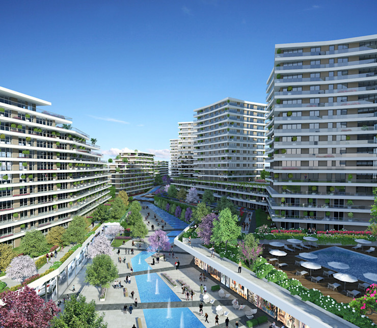 CCT 103 Project in Bahcesehir Modern Evler CCT INVESTMENTS Modern