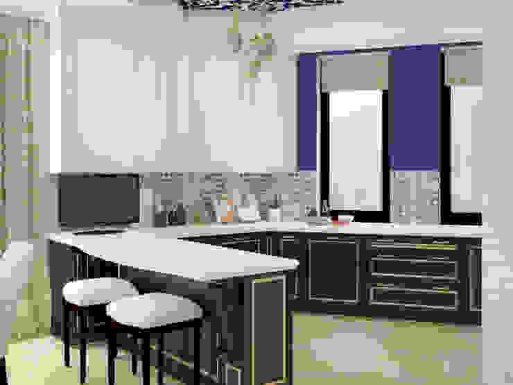 Восточные Сказки Кухни в эклектичном стиле от Tatiana Zaitseva Design Studio Эклектичный
