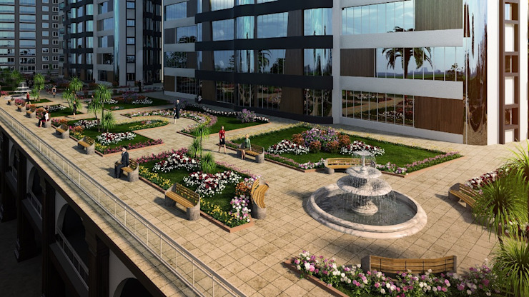 CCT 106 Project in Esenyurt Modern Bahçe CCT INVESTMENTS Modern