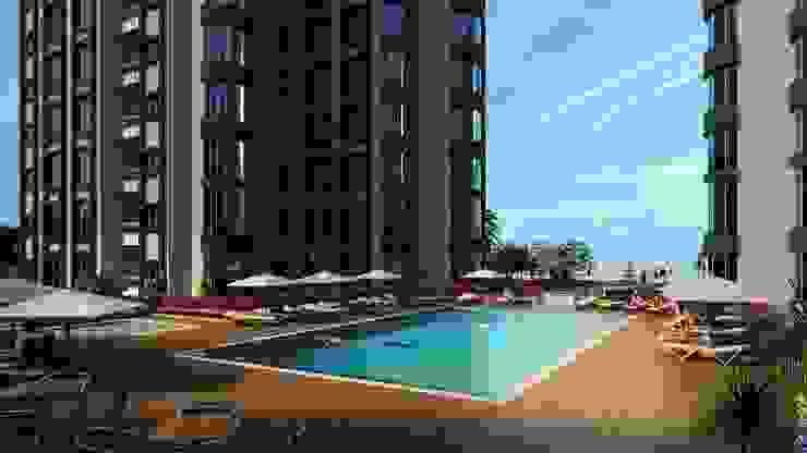 CCT 106 Project in Esenyurt Modern Havuz CCT INVESTMENTS Modern