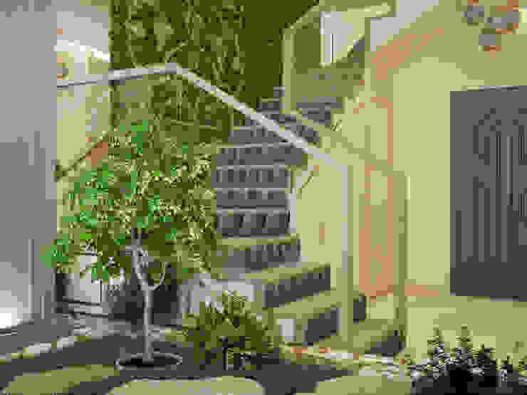 Minimal style conservatory by Tatiana Zaitseva Design Studio Minimalist