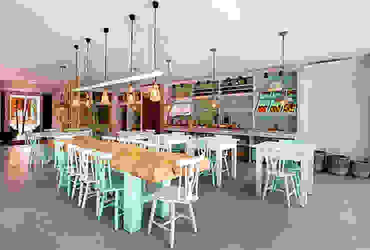 Comedores de estilo  por SegmentoPonto4, Rural
