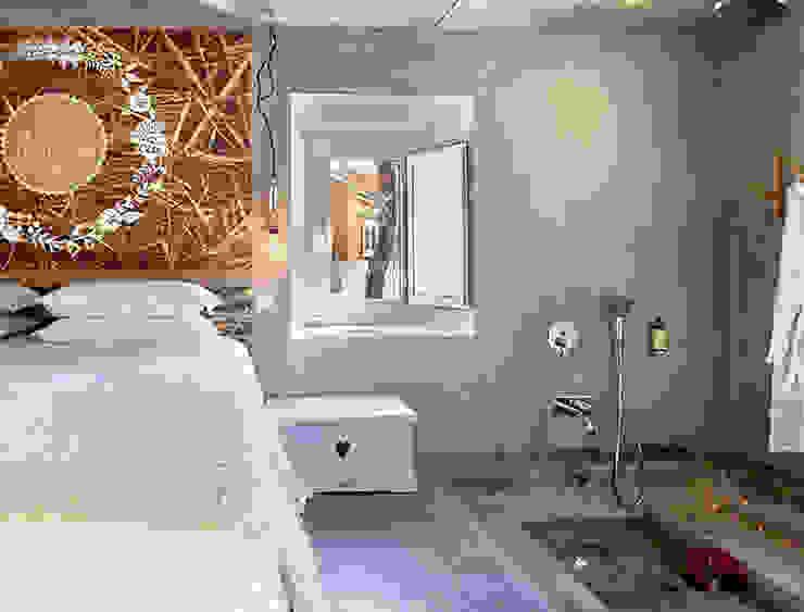Projekty,  Sypialnia zaprojektowane przez SegmentoPonto4, Wiejski