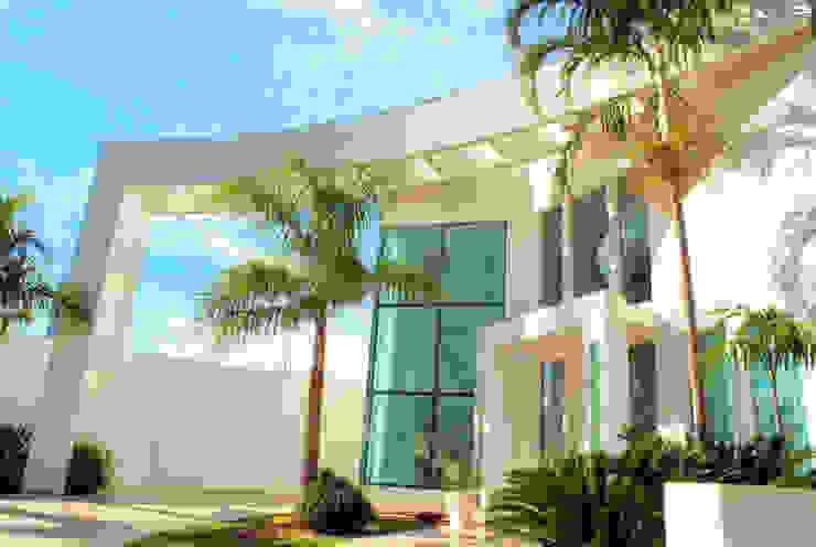 PROJ. ARQ. PENHA ALBA BRAESCHER FOTOGRAFIA Casas modernas