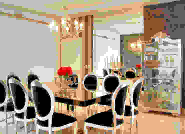 PROJ. ARQ. PENHA ALBA Salas de jantar modernas por BRAESCHER FOTOGRAFIA Moderno