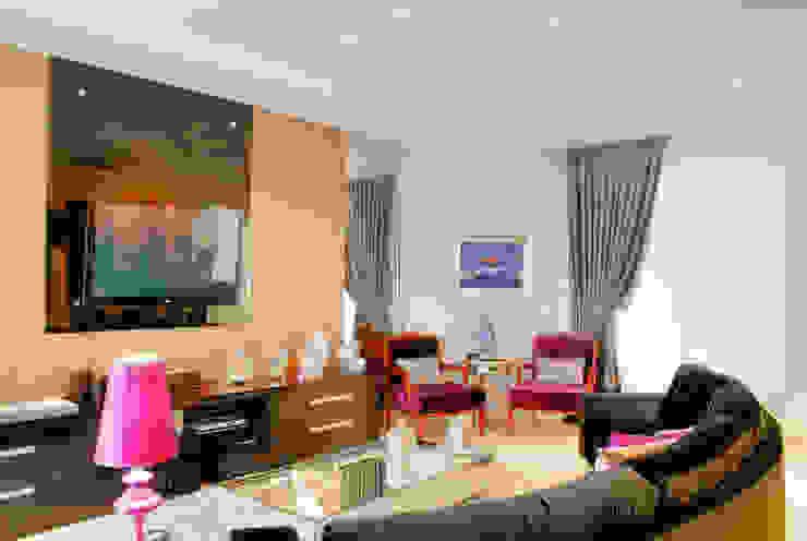 PROJ. ARQ. PENHA ALBA Salas de estar modernas por BRAESCHER FOTOGRAFIA Moderno