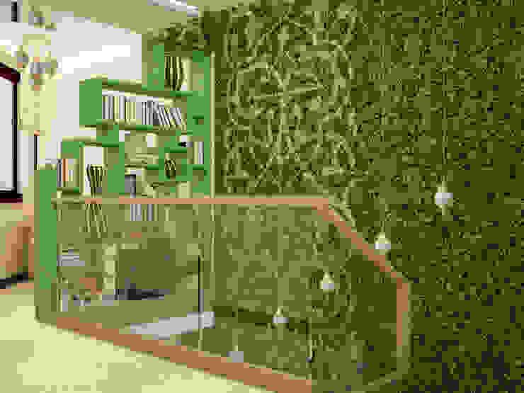 Восточные Сказки Коридор, прихожая и лестница в эклектичном стиле от Tatiana Zaitseva Design Studio Эклектичный