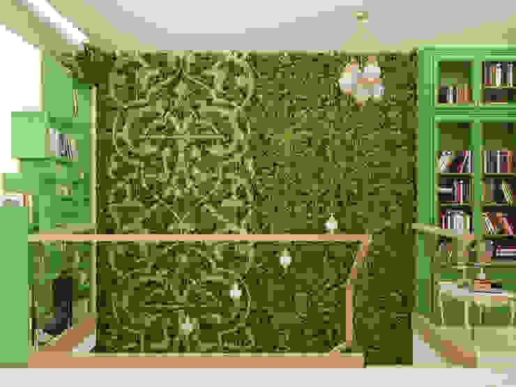 Восточные Сказки Коридор, прихожая и лестница в азиатском стиле от Tatiana Zaitseva Design Studio Азиатский