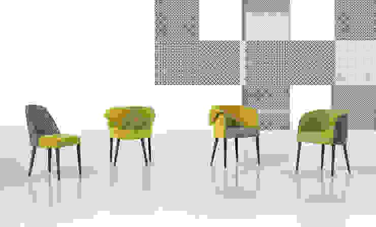 Gomo Collection por Fenabel-The heart of seating Moderno Madeira maciça Multicolor