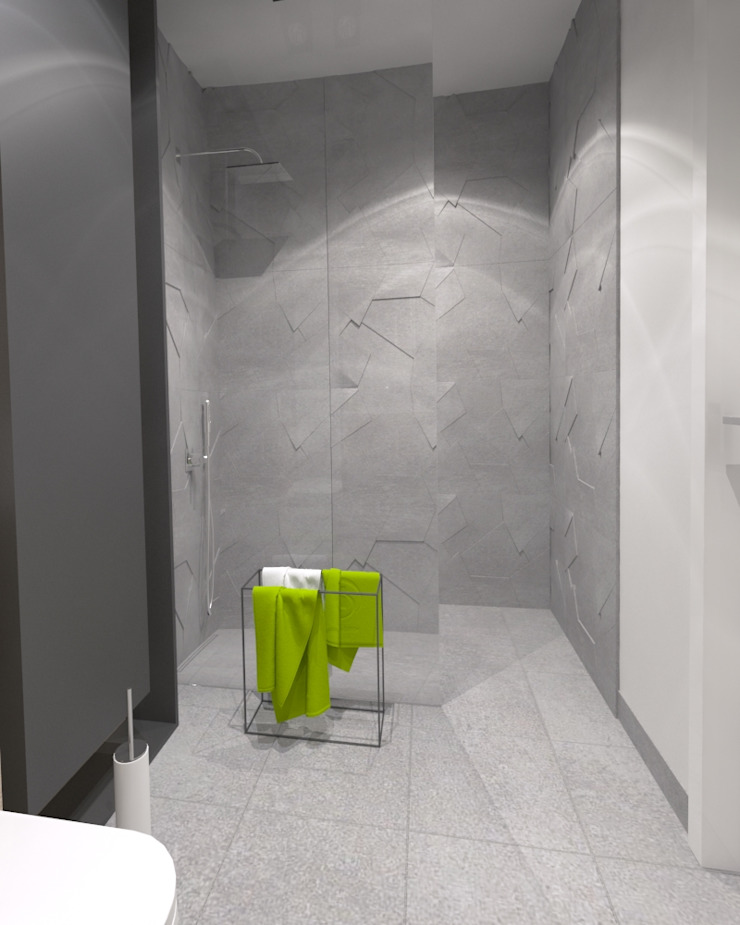 APARTAMENT SASKA KĘPA WARSZAWA Nowoczesna łazienka od The Vibe Nowoczesny
