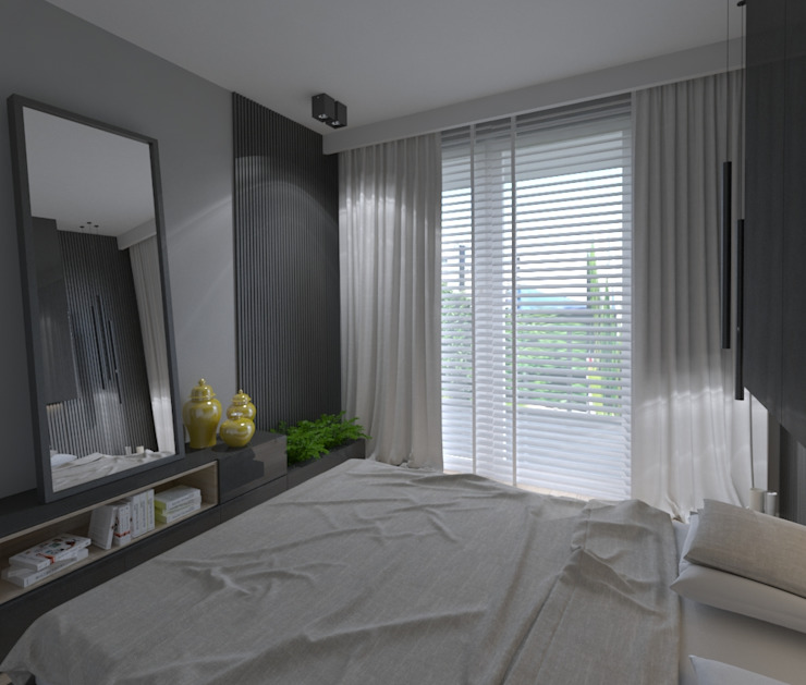 The Vibe Modern Bedroom