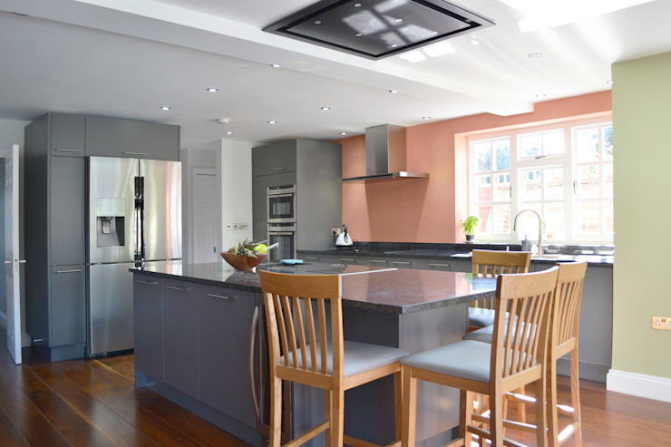 Kitchen And Roof Light - As Built by Arc 3 Architects & Chartered Surveyors