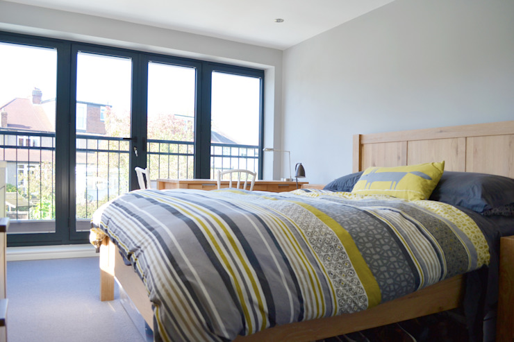 Juliet Balcony In Main Bedroom - As Built by Arc 3 Architects & Chartered Surveyors
