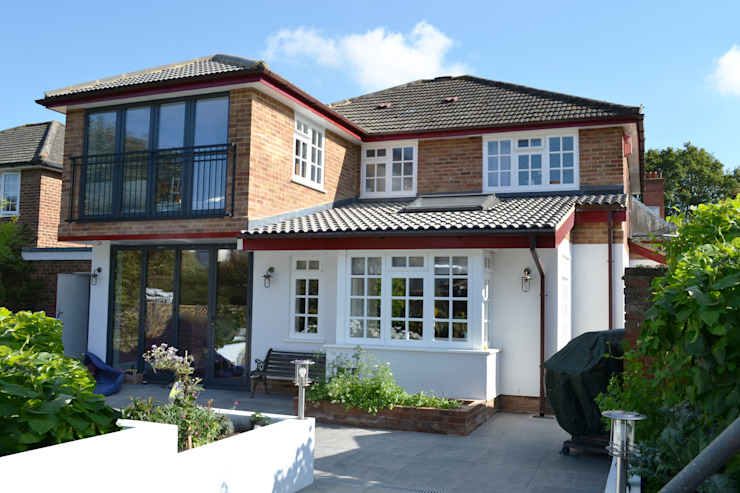 Rear Elevation - As Built by Arc 3 Architects & Chartered Surveyors