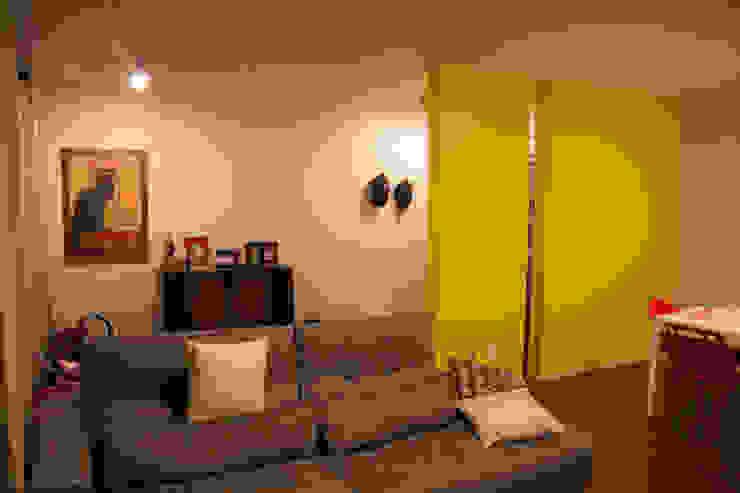 ambientação de sala de estar Salas de estar modernas por ARM ARQUITETURA E URBANISMO Moderno