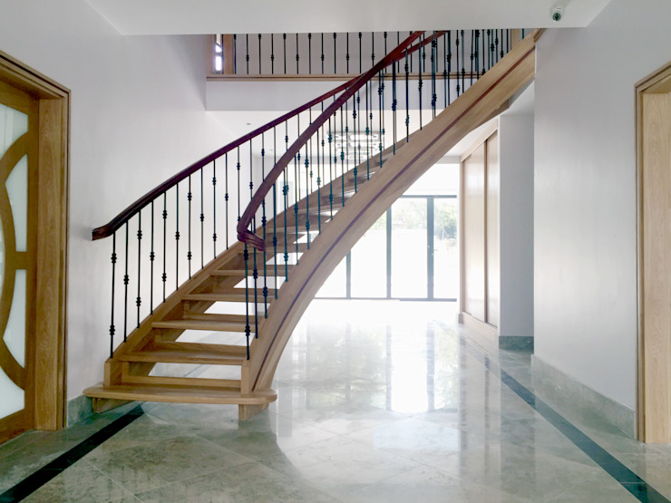 Main Staircase - As Built van Arc 3 Architects & Chartered Surveyors