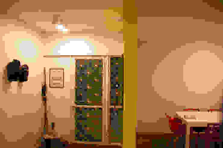 ambientação de sala de estar Corredores, halls e escadas modernos por ARM ARQUITETURA E URBANISMO Moderno