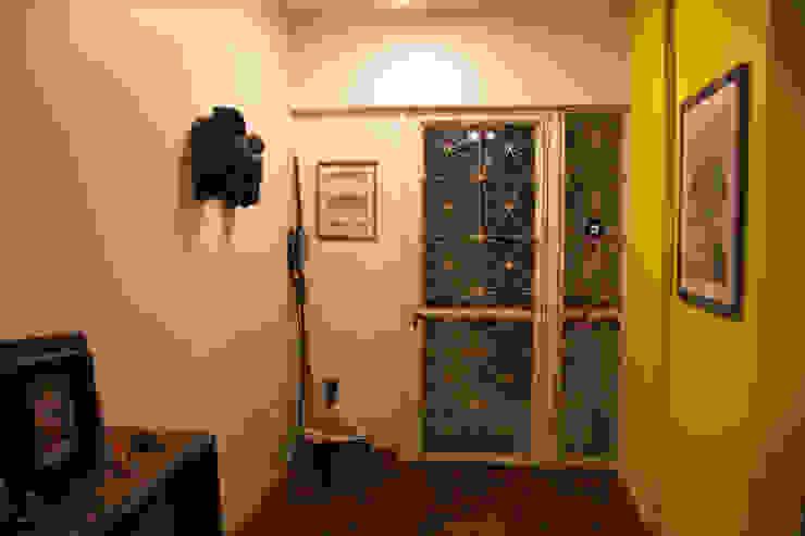 ambientação de sala de estar Portas e janelas modernas por ARM ARQUITETURA E URBANISMO Moderno
