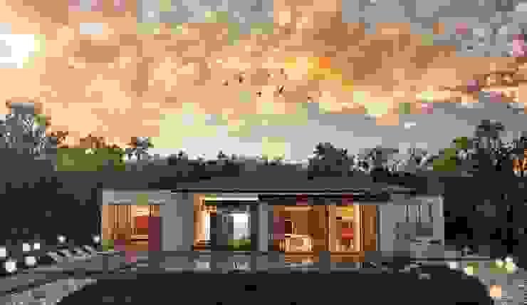portada Casas de estilo clásico de Territorios En Contacto Arquitectos Clásico