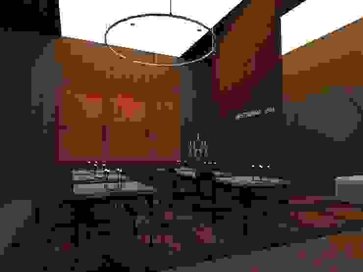 Restaurante & Bar Espaços de restauração industriais por IDesign.art by Paula Gouveia Industrial