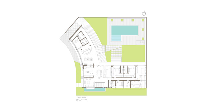 Стены и пол в стиле модерн от grupo pr | arquitetura e design Модерн