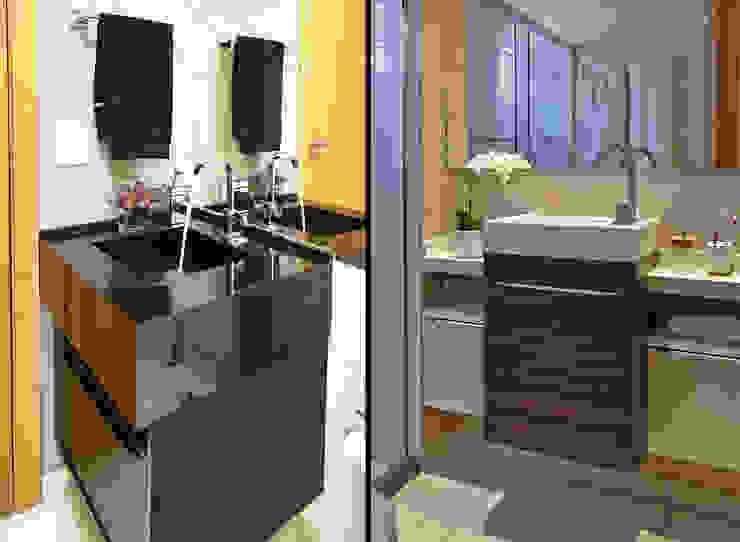 apê rf Banheiros modernos por grupo pr   arquitetura e design Moderno