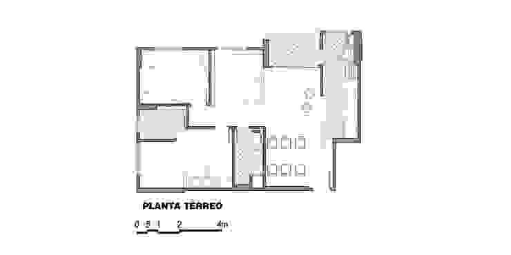 apê rf Paredes e pisos modernos por grupo pr   arquitetura e design Moderno