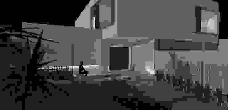 casa am Casas modernas por grupo pr | arquitetura e design Moderno