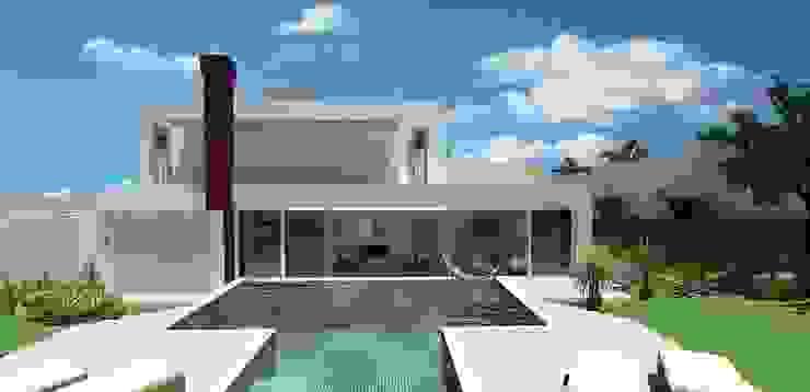 casa am Piscinas modernas por grupo pr | arquitetura e design Moderno