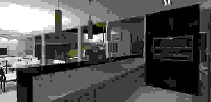 casa am Cozinhas modernas por grupo pr | arquitetura e design Moderno