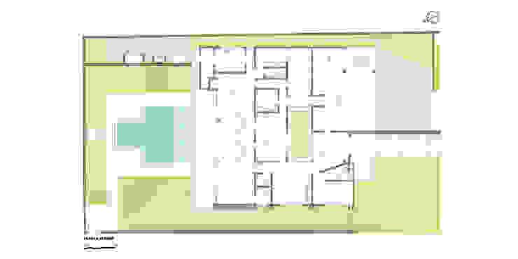 casa am Paredes e pisos modernos por grupo pr | arquitetura e design Moderno