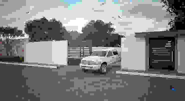 """Proyecto Arquitectónico """" Casa XC03"""" Casas modernas de PORTO Arquitectura + Diseño de Interiores Moderno"""