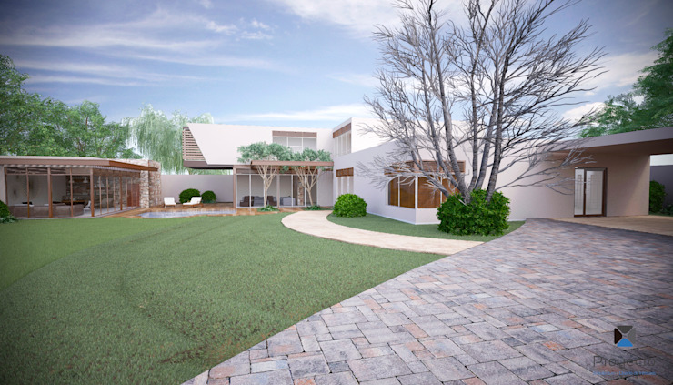 Jardin moderne par PORTO Arquitectura + Diseño de Interiores Moderne
