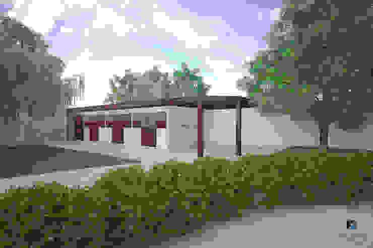 Proyecto Arquitectónico <q> Casa XC03</q> Casas modernas de PORTO Arquitectura + Diseño de Interiores Moderno