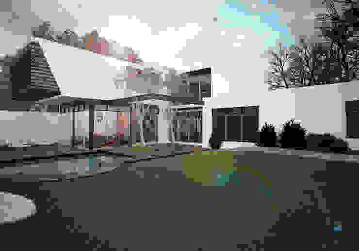 Maisons modernes par PORTO Arquitectura + Diseño de Interiores Moderne