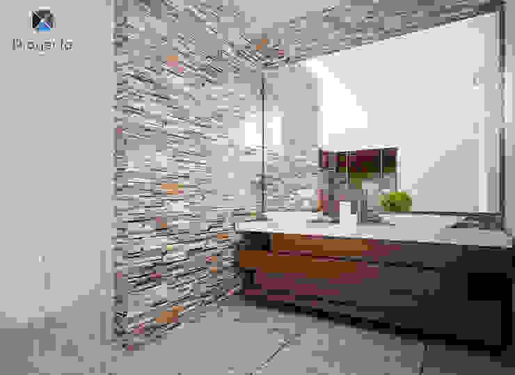 Baños de estilo moderno de PORTO Arquitectura + Diseño de Interiores Moderno