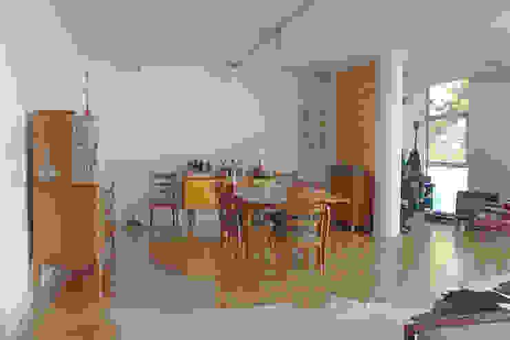 sala de jantar - ap bossa Salas de jantar modernas por omnibus arquitetura Moderno