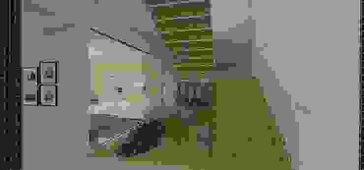 casa bq Corredores, halls e escadas modernos por grupo pr | arquitetura e design Moderno
