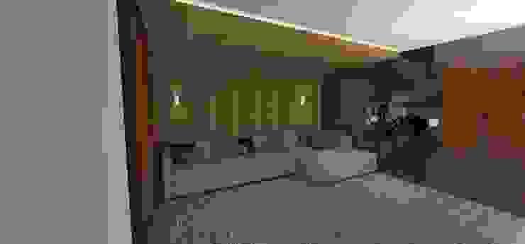 casa bq Salas multimídia modernas por grupo pr | arquitetura e design Moderno