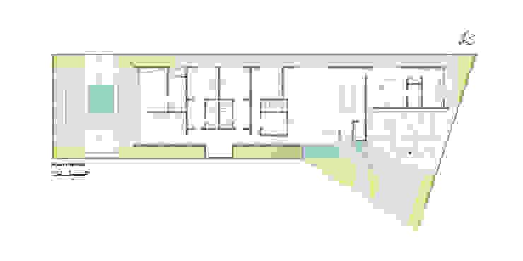 casa bq Paredes e pisos modernos por grupo pr | arquitetura e design Moderno