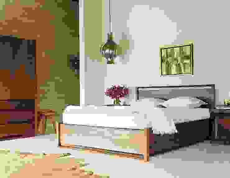 Cama Matera con cajones para guardar de Design Within Reach Mexico Moderno Madera Acabado en madera