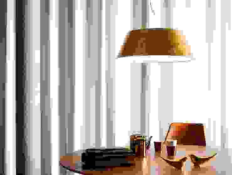Modern Yemek Odası Griscan diseño iluminación Modern