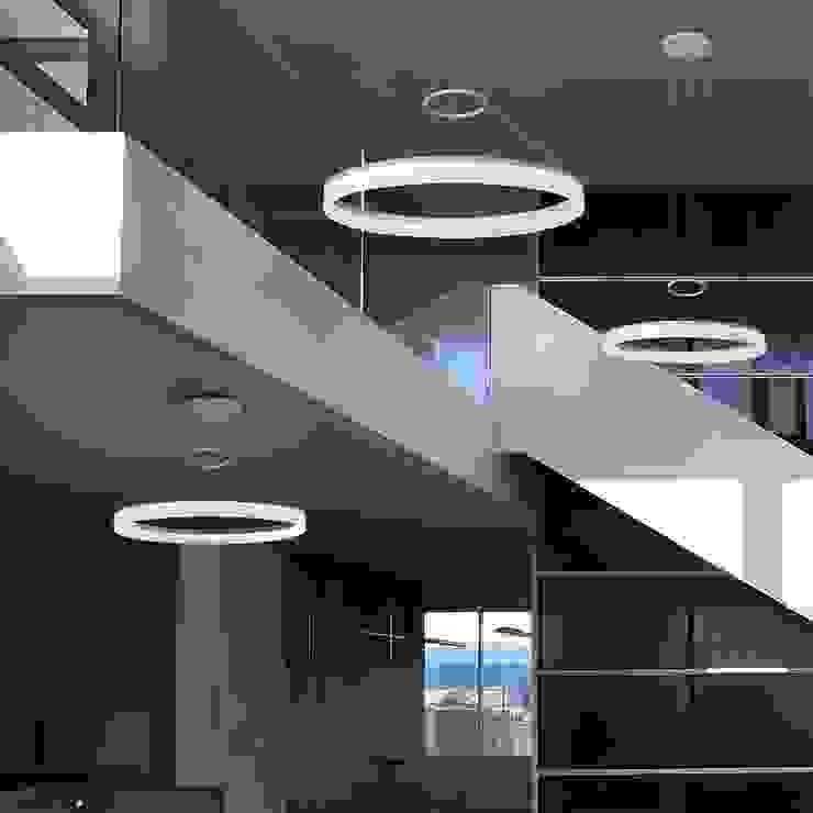 Lámpara Colgante Español Salones minimalistas de Griscan diseño iluminación Minimalista