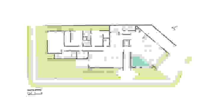 Стіни by grupo pr | arquitetura e design, Сучасний