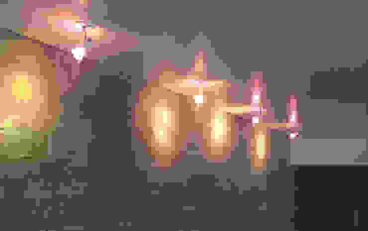 iluminação charmosa - ap varandas Corredores, halls e escadas modernos por omnibus arquitetura Moderno