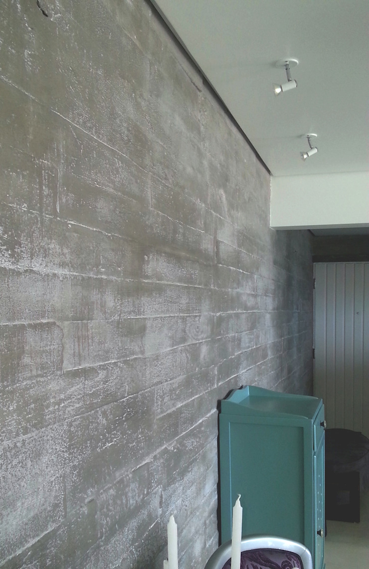 Parede ou muro... - ap varandas Paredes e pisos modernos por omnibus arquitetura Moderno