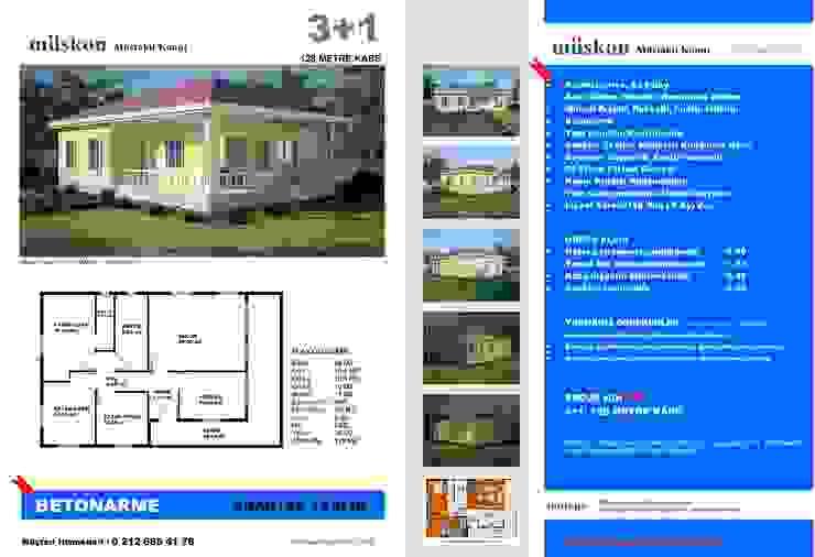 Classic style garden by Müskon - Müstakil Konut Projeleri Classic