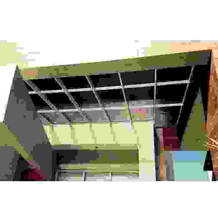 Cobertura translúcida - Residência Ventura Club Casas modernas por Marisol Réquia Arquitetura Moderno Alumínio/Zinco