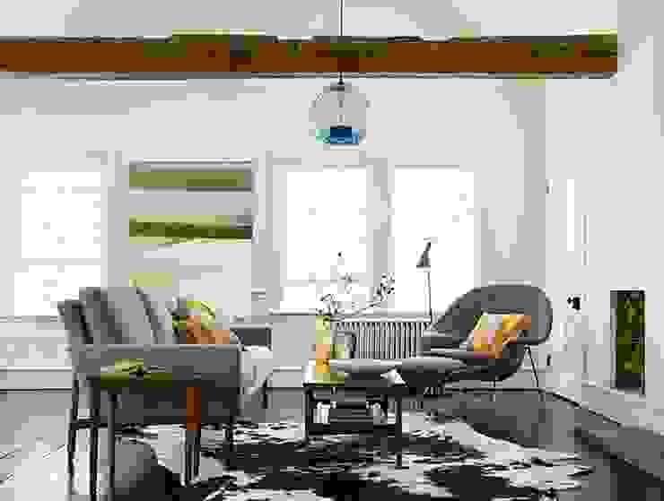 Sofa Raleigh de Design Within Reach Mexico Moderno Lana Naranja
